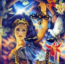 Goddess Astraea, Goddess of Justice